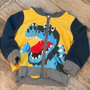 Other - Never been worn dinosaur hooded sweatshirt